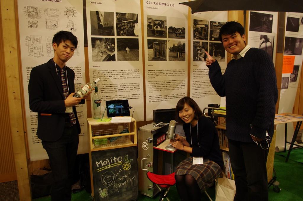 プロジェクト担当:西崎和樹さん、ジョイスラムさん、秋庭大志郎さん